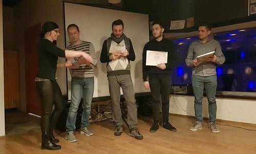 Awarding ceremony of the best Macedonian climbers for 2018